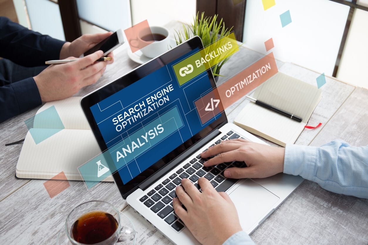 Search-engine-optimization-on-laptop