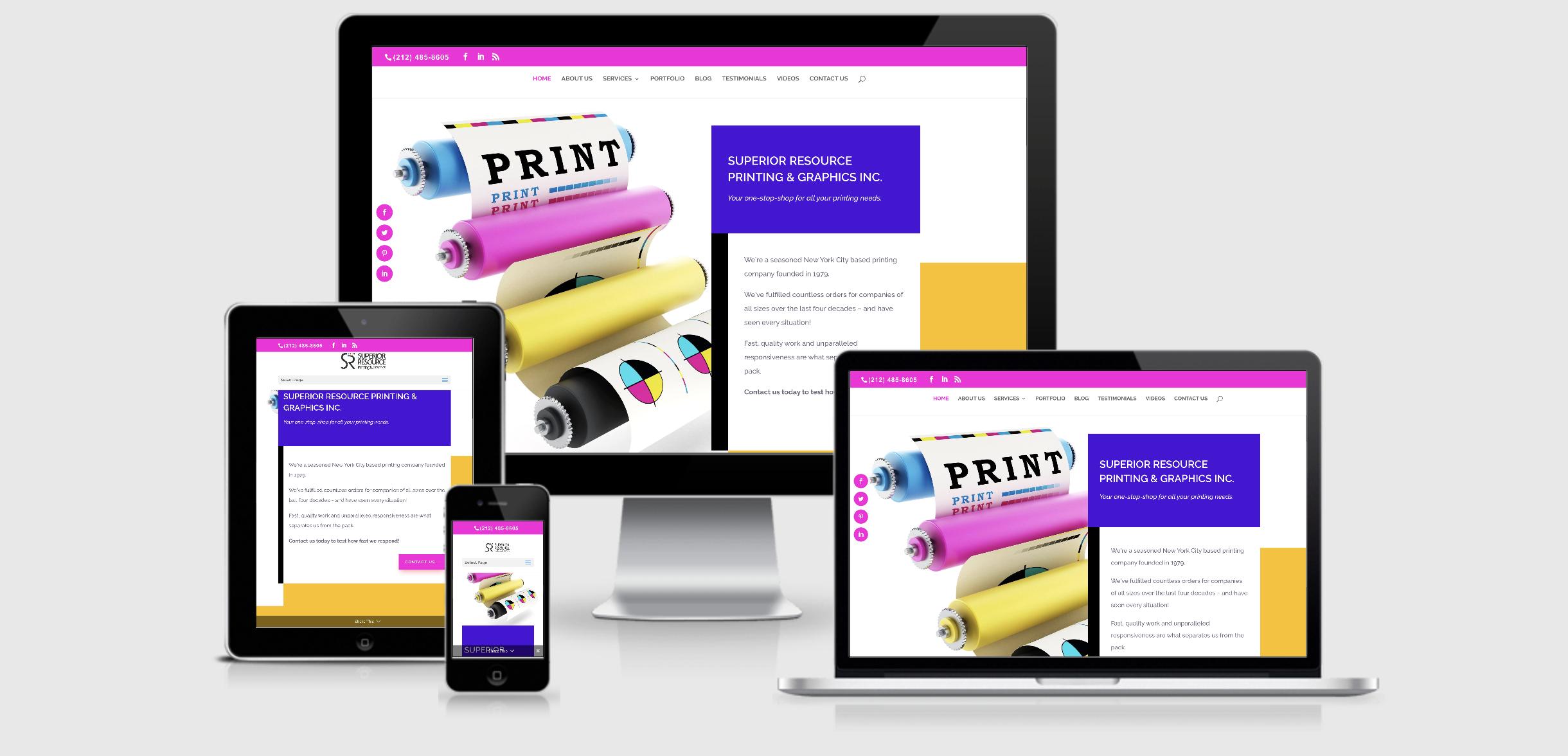 Superior-Resource-web-design-project