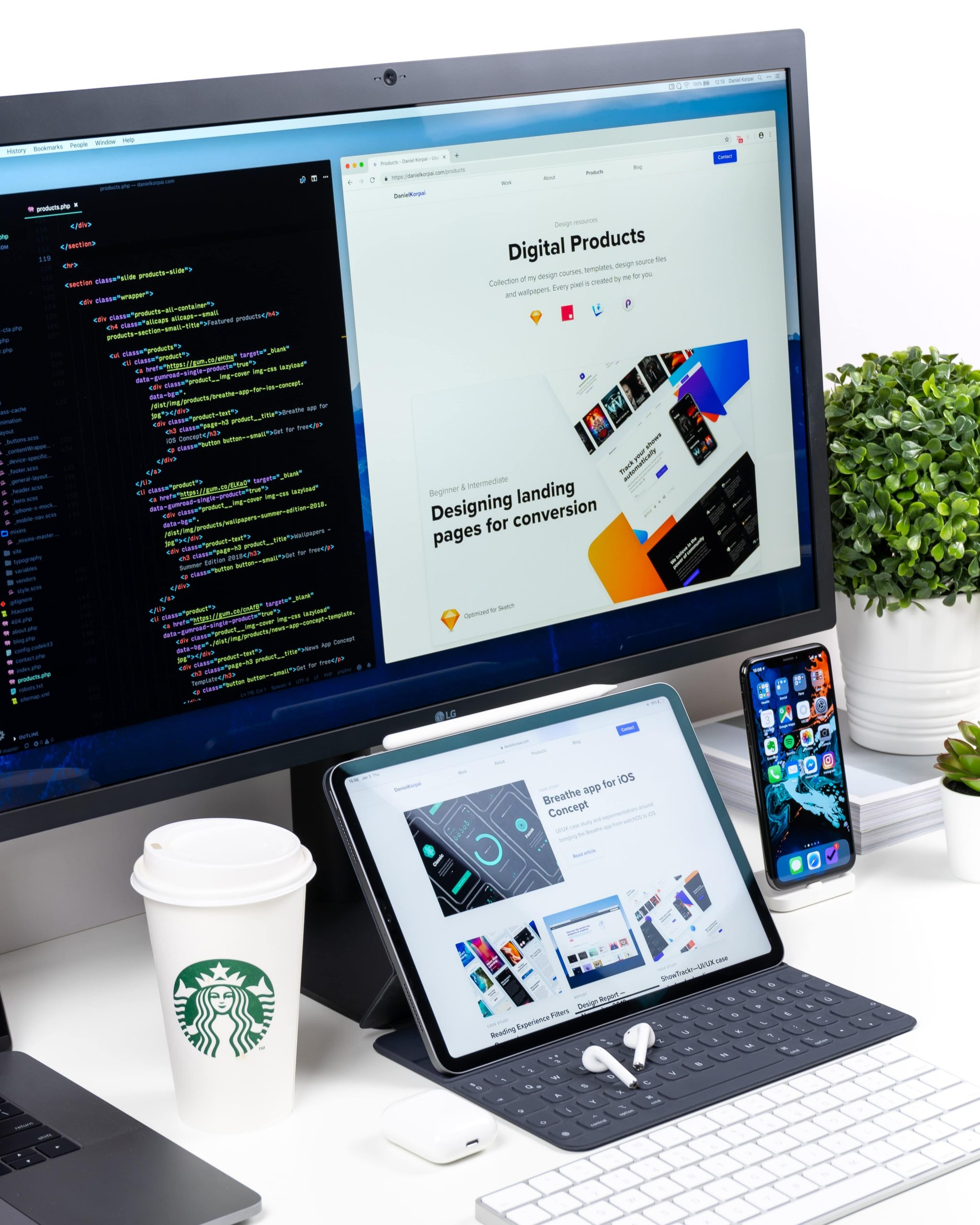 web-developer-working-multiple-screens