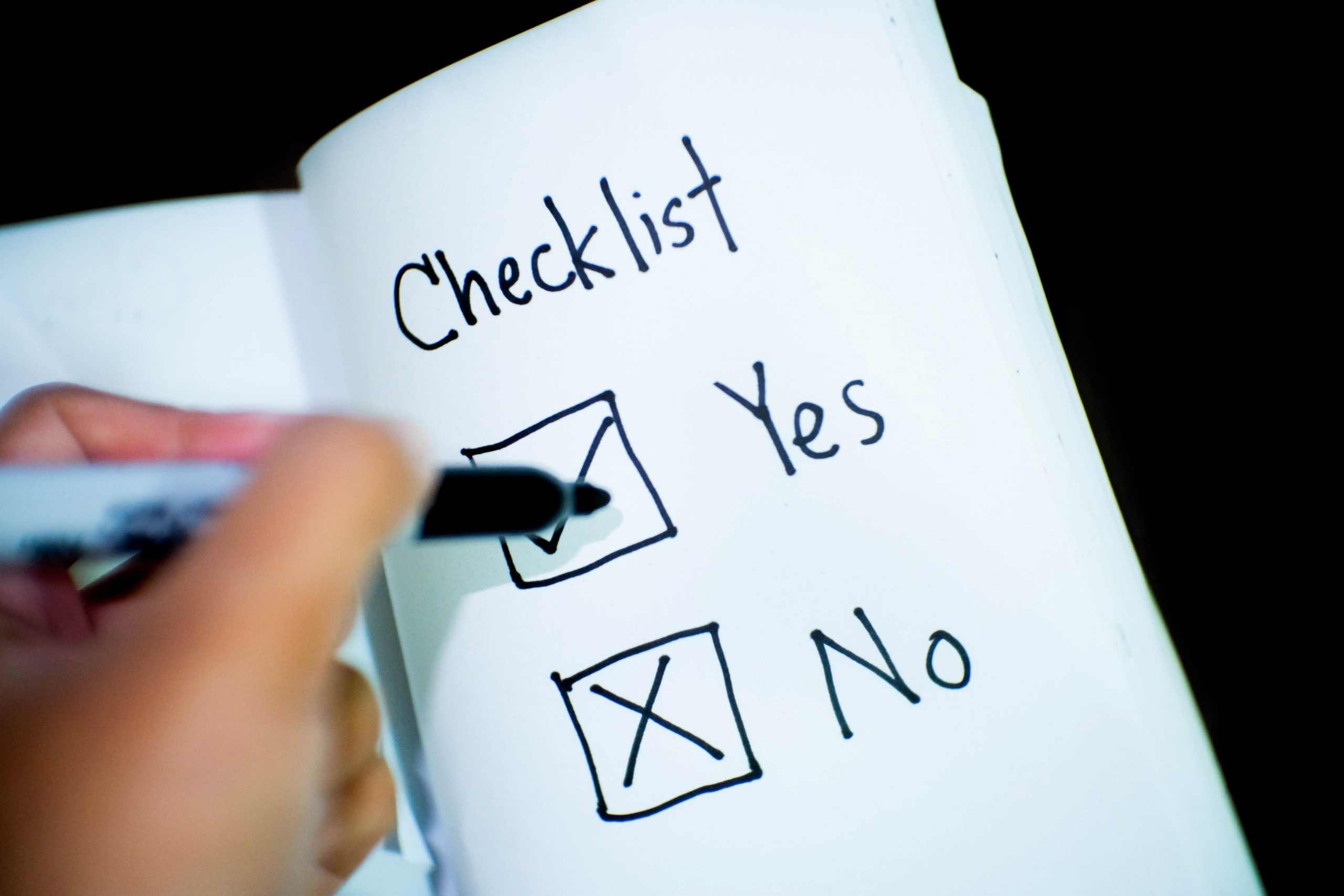 deciding-factors-yes-or-no-checklist-boxes