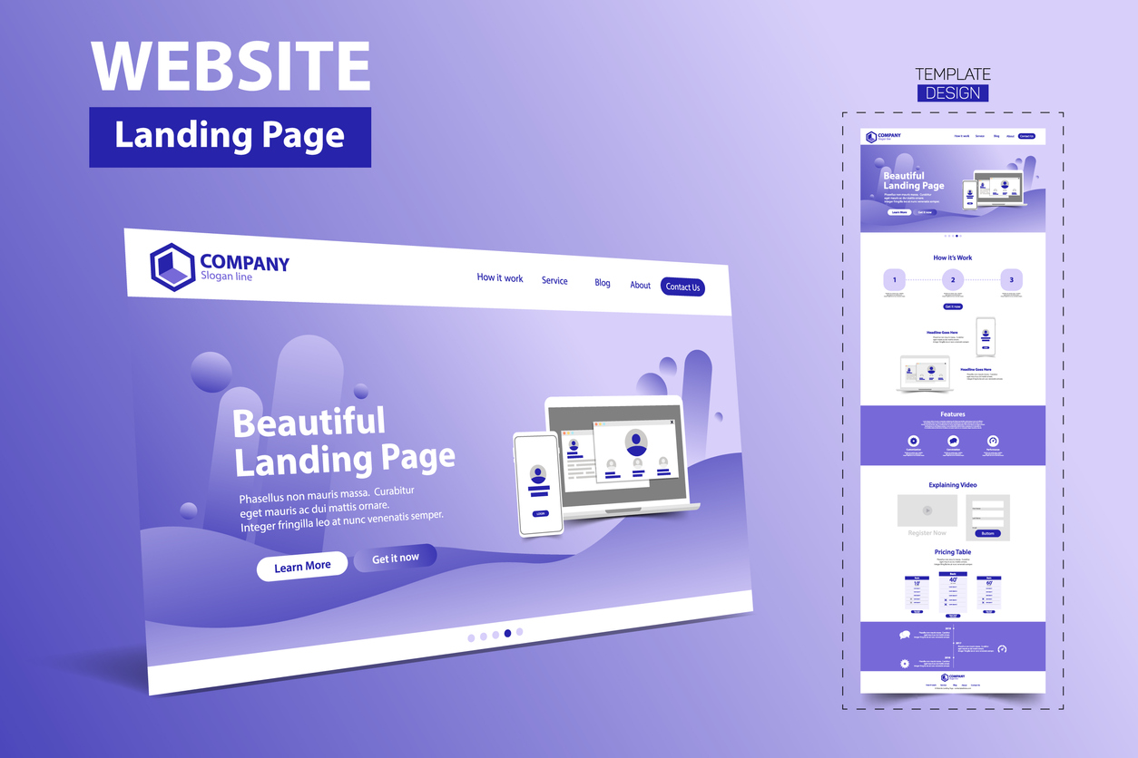 website-template-landing-page
