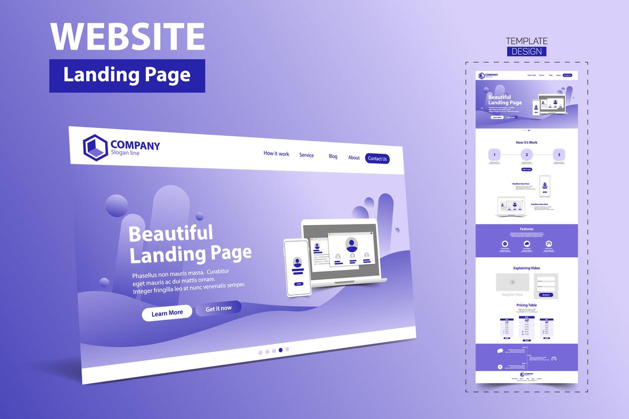 website-template-landing-page