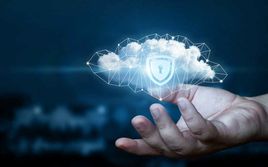 cloud-data-with-protective-shield-and-security